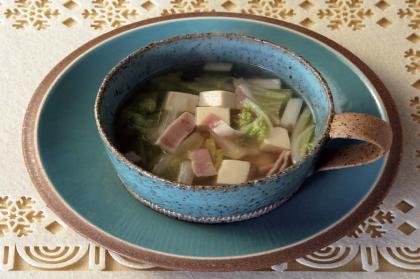 白菜のあったかスープ